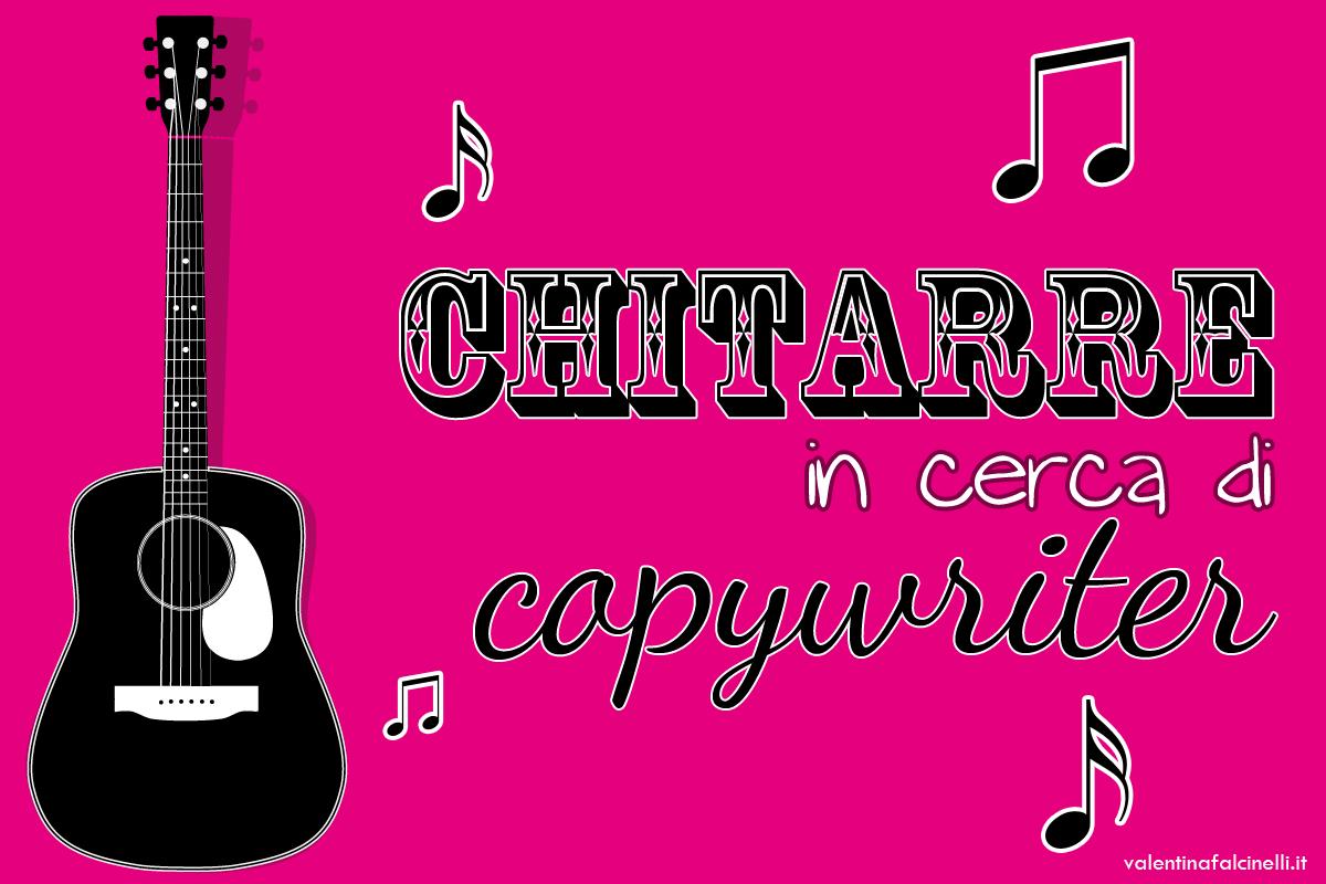 copywriter chitarra