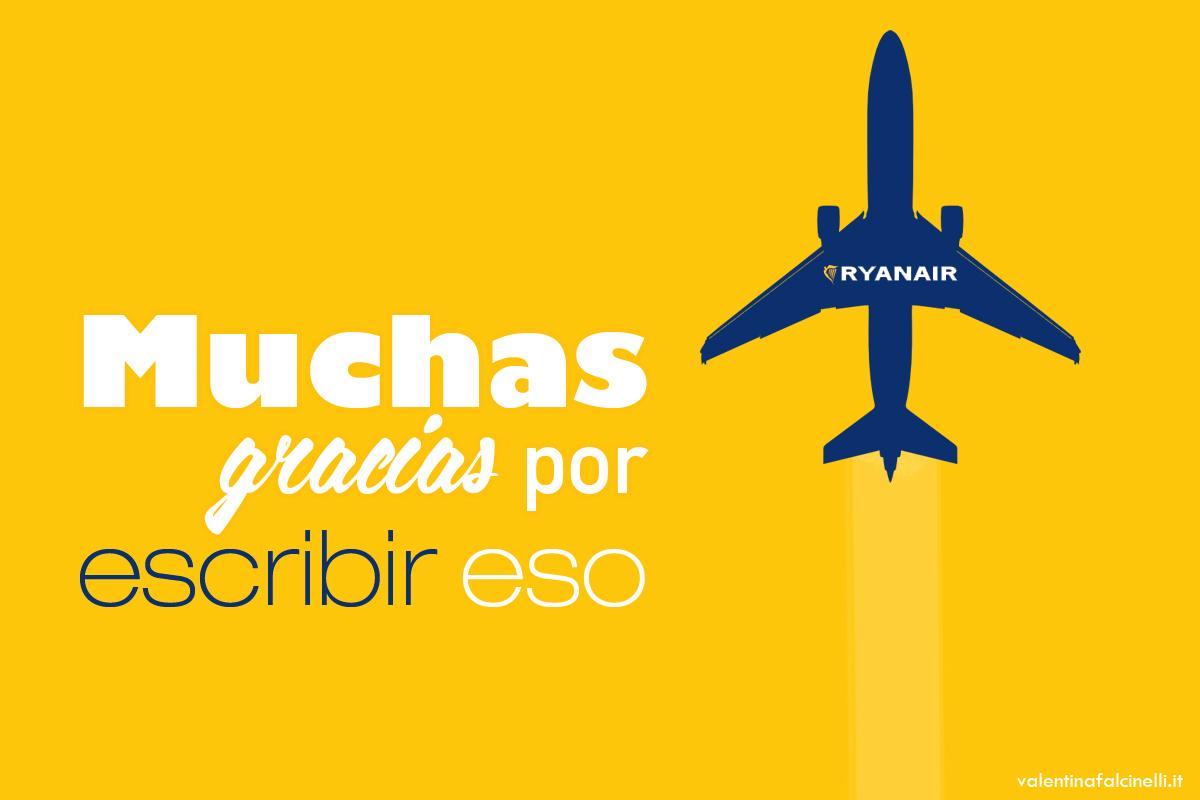 copywriting Ryanair