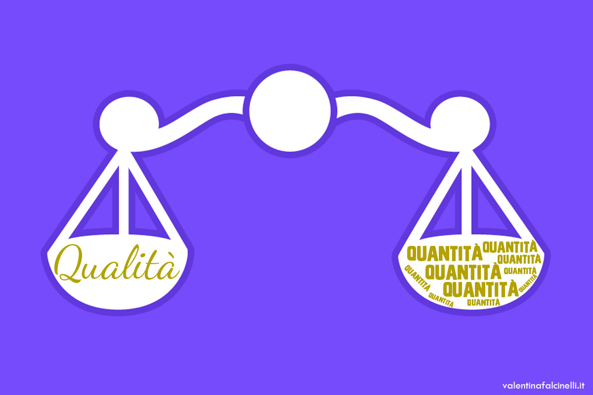 Blogging di qualità o in quantità?